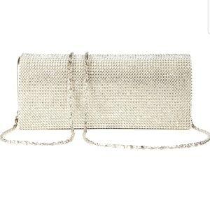 Handbags - Diamante rhinestone rectangular clutch